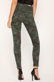 Miss Me Camo Skinny Jeans - Front full body