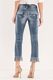 Miss Me Crop Boot Cut - Front full body