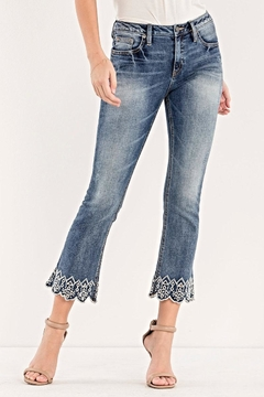 Miss Me Crop Boot Cut - Product List Image