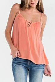 Miss Me Cross Camisole Top - Product Mini Image