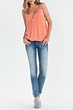 Miss Me Cross Camisole Top - Alternate List Image