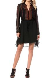Miss Me Dark Night Dress - Front full body