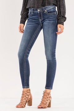 Shoptiques Product: Decorative Trim Skinny Jeans