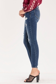 Miss Me Destructed Mid-rise Skinny Jeans - Side cropped