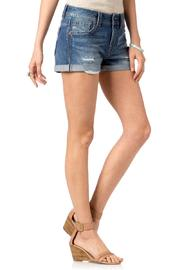 Miss Me Distressed Boyfriend Shorts - Side cropped