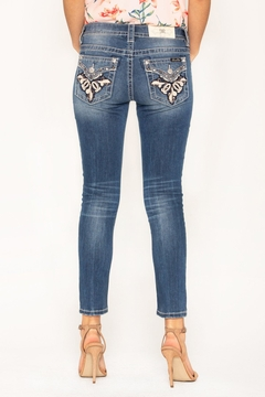 Shoptiques Product: Embellished Ankle Skinny