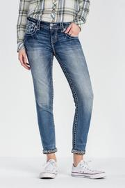 Miss Me Embellished Skinny Jeans - Front full body