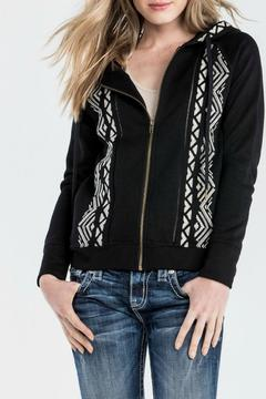 Shoptiques Product: Embroidered Floral Hoodie