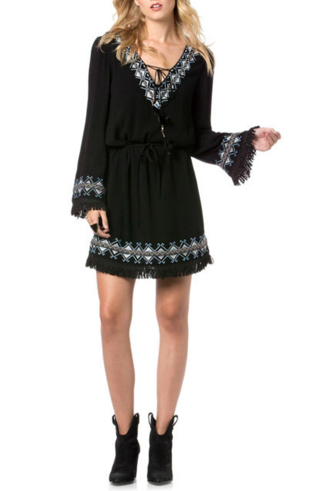 78bed673bfe2 Miss Me Embroidered Fringe Dress from California by Girl s ...