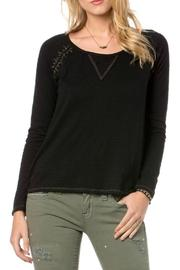 Miss Me Embroidered Lace Top - Product Mini Image