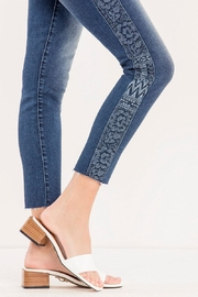 Miss Me Embroidered Side-Seam Ankle-Skinny - Other