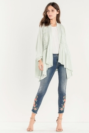 Miss Me Embroidered Skinny Jean - Back cropped