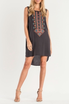 Shoptiques Product: Embroidered Tank Dress