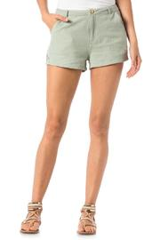 Miss Me Embroidered Trouser Shorts - Front full body