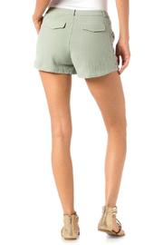 Miss Me Embroidered Trouser Shorts - Side cropped