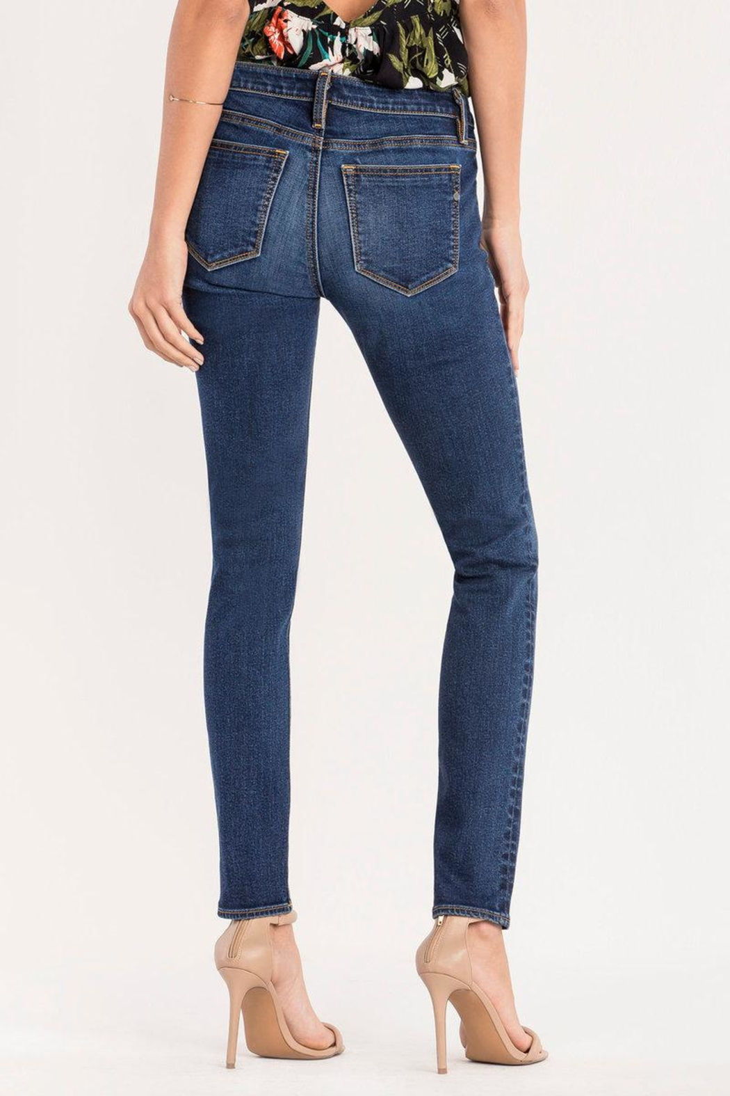 Miss Me Essential Midrise Skinny Jean - Front Full Image