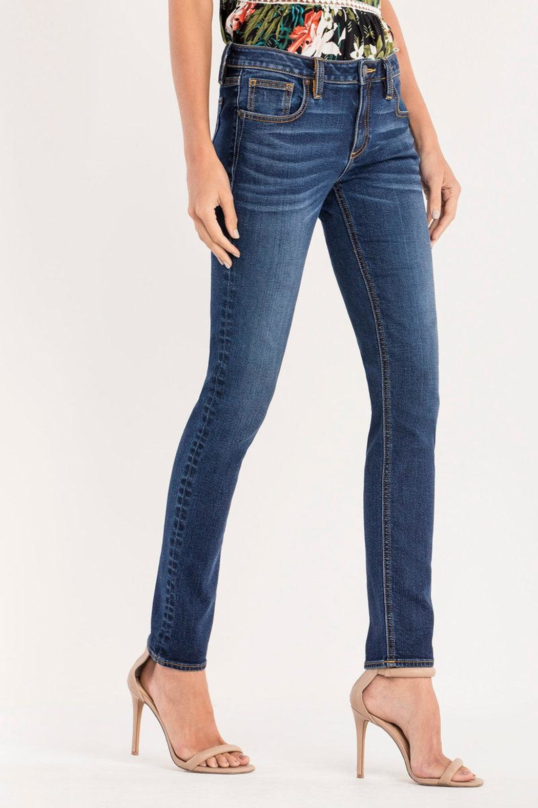 Miss Me Essential Midrise Skinny Jean - Side Cropped Image
