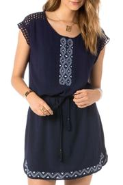 Miss Me Eyelet Embroidered Dress - Product Mini Image
