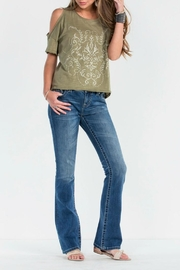 Miss Me Feather Falls Bootcut Jeans - Other