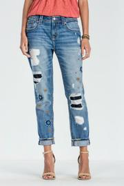 Miss Me Feel The Groove Jeans - Product Mini Image