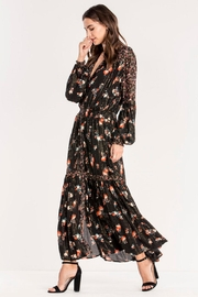 Miss Me Floral Maxi Dress - Front cropped