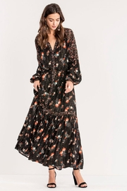 Miss Me Floral Maxi Dress - Front full body