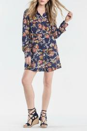 Miss Me Floral Shirt Dress - Product Mini Image