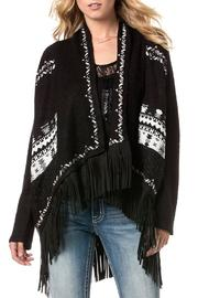 Miss Me Fringe Cardigan - Product Mini Image