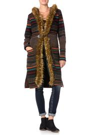 Miss Me Faux Fur-Trim Wool Jacket - Product Mini Image