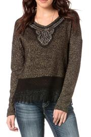 Miss Me Glitz Sweater - Product Mini Image