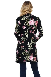 LUNA Beautiful Floral Cardigan - Front full body