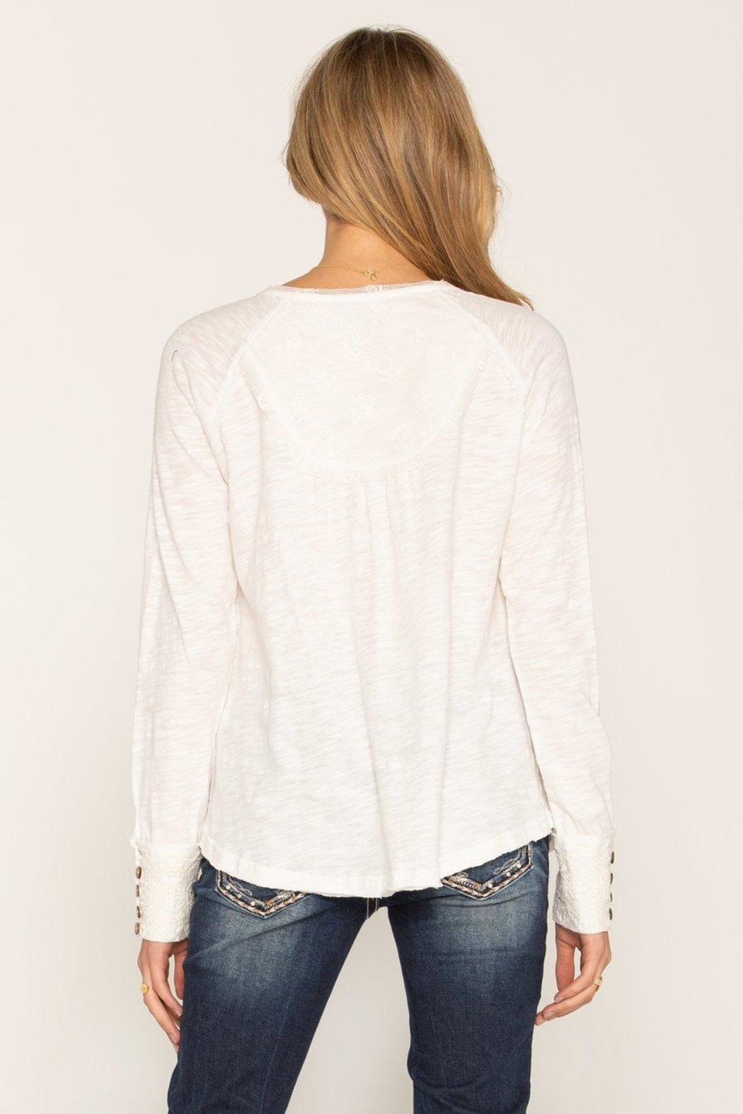 Miss Me Lace Long Sleeve - Front Full Image