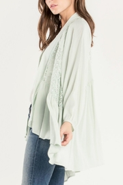 Miss Me Lace Please Cardigan - Front full body