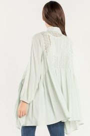 Miss Me Lace Please Cardigan - Side cropped