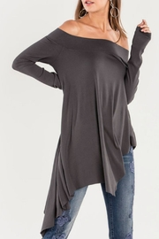 Miss Me Let's-Hang Off-The-Shoulder Top - Product Mini Image