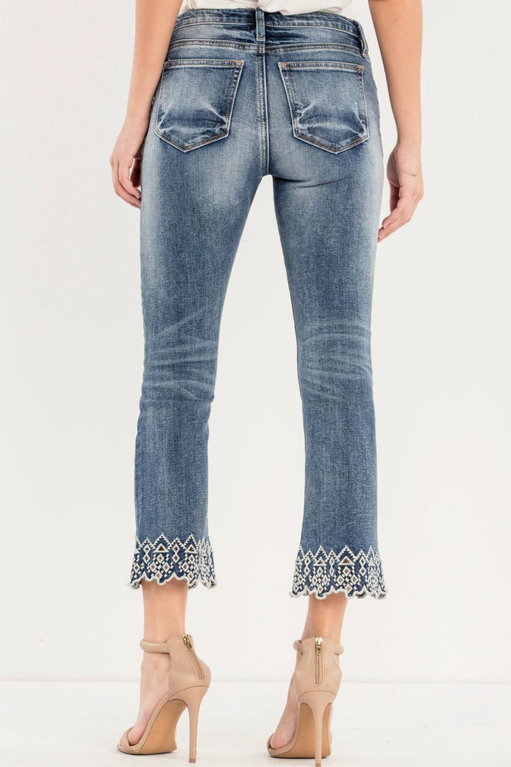 Miss Me Crop Boot Cut - Side Cropped Image