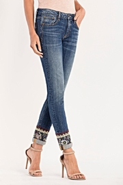 Miss Me Mid Rise Skinny Jeans - Front cropped