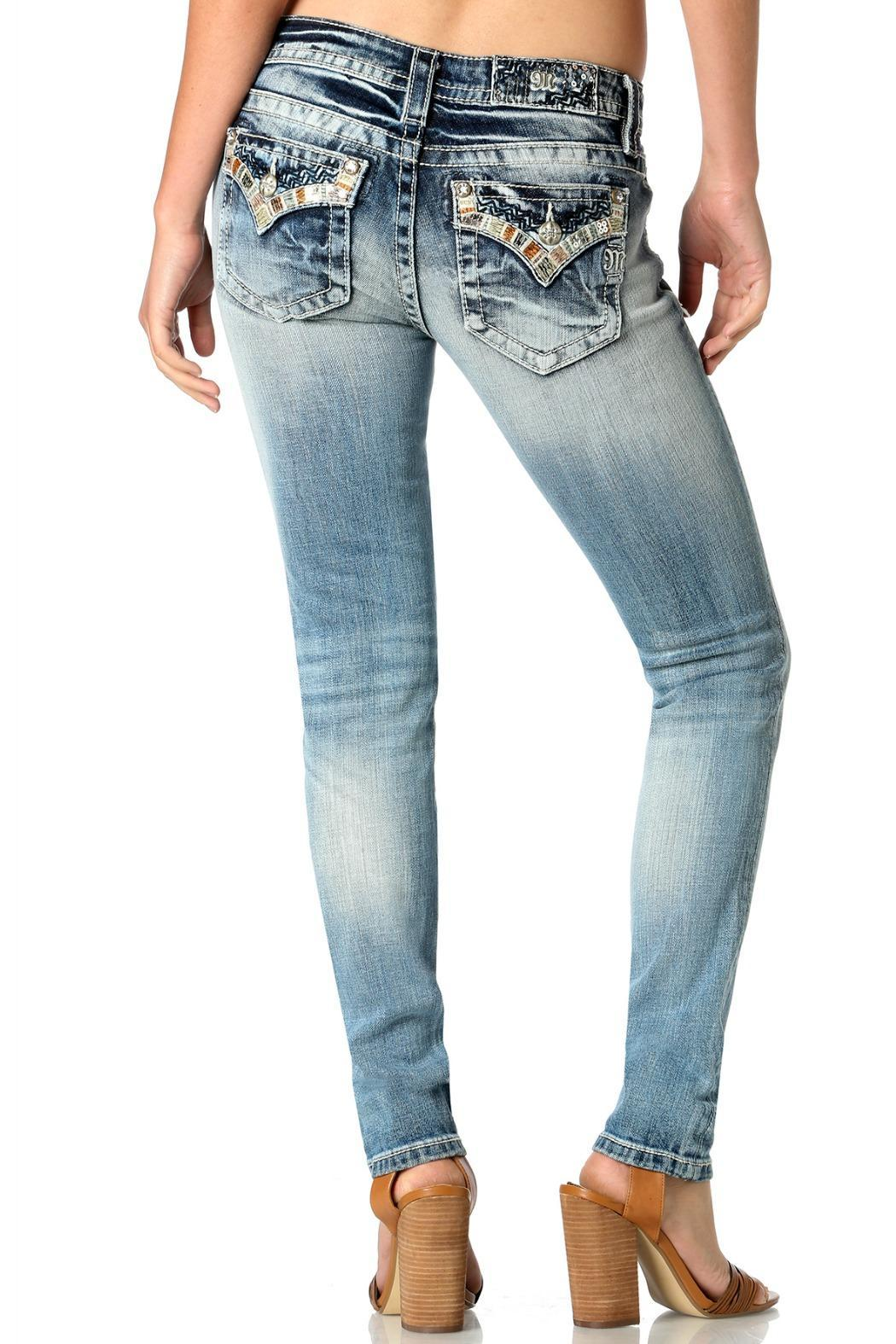 Miss Me Mid-Rise Skinny - Front Full Image
