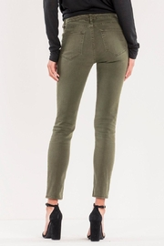 Miss Me Midrise Olive Skinny - Side cropped