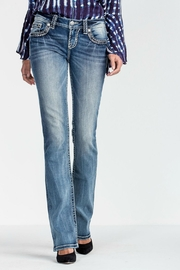 Miss Me Breakthrough Slim Boot Cut Jeans - Product Mini Image