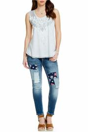 Miss Me Patch Work Skinny - Side cropped