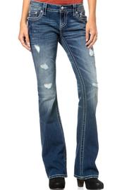 Miss Me Relaxed Boot Cut - Front cropped