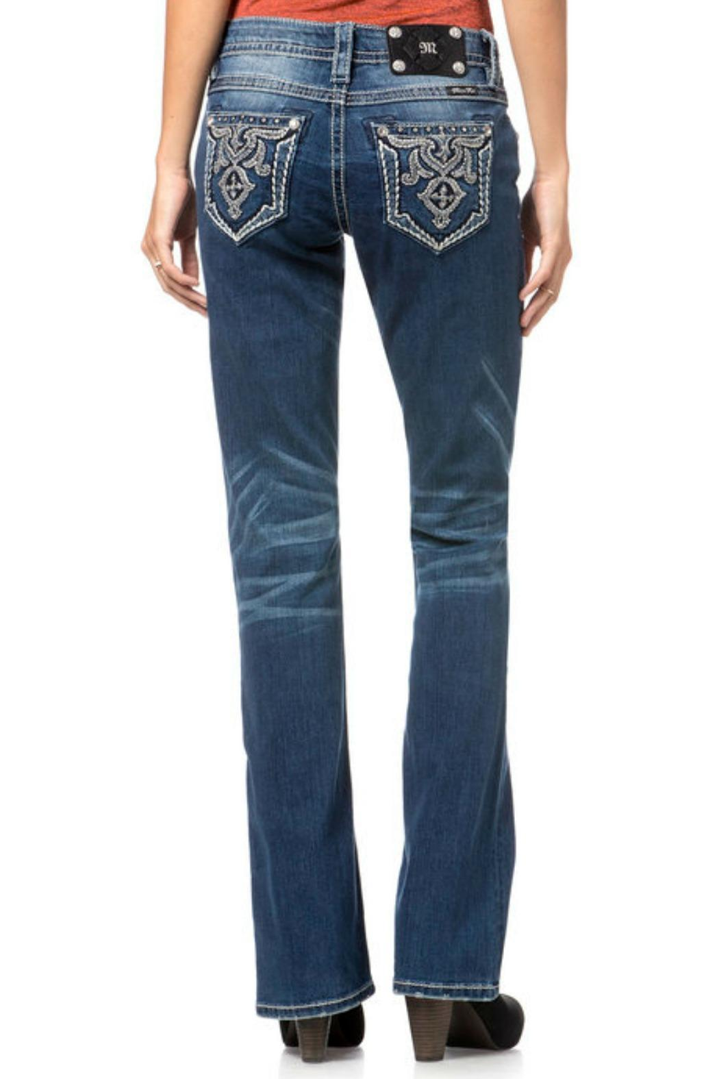 Miss Me Relaxed Boot Cut - Front Full Image