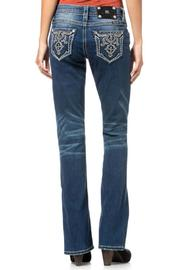 Miss Me Relaxed Boot Cut - Front full body