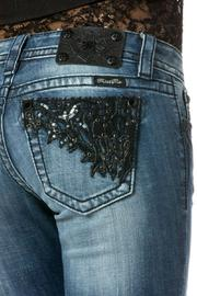 Miss Me Romance Straight Jeans - Front full body