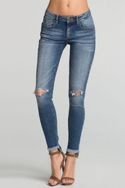 Miss Me Hem Distressed Skinny Jean - Product Mini Image
