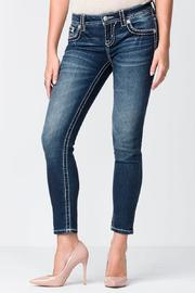 Miss Me Stitched Ankle Skinny - Product Mini Image