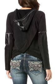 Miss Me Studded Rebel Hoodie - Side cropped