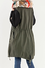 Miss Me Utility Jacket - Front full body
