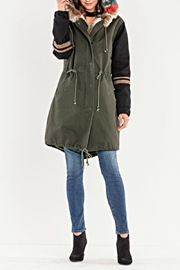 Miss Me Utility Jacket - Front cropped